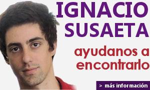 Familiares y amigos continúan la búsqueda de Ignacio Susaeta